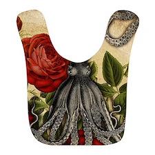 Tentacles And Roses Bib