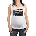 Woody Pittsburgh Smallmouth Maternity Tank Top