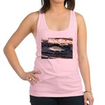 Woody Pittsburgh Smallmouth Racerback Tank Top