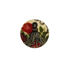 Tentacles And Roses Mini Button