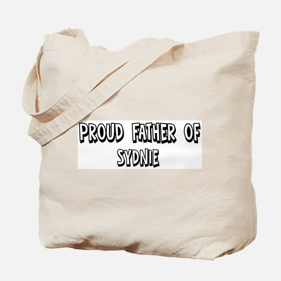 Father of Sydnie Tote Bag