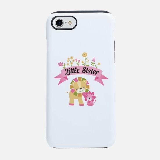 Little Sister Lions iPhone 7 Tough Case