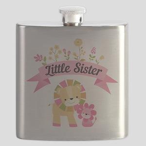 Little Sister Lions Flask