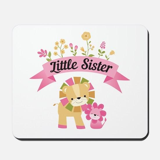 Little Sister Lions Mousepad