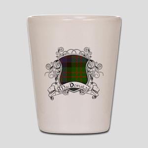 MacDonald Tartan Shield Shot Glass