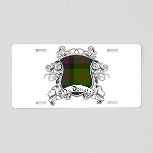 MacDonald Tartan Shield Aluminum License Plate