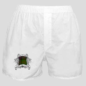 MacDonald Tartan Shield Boxer Shorts