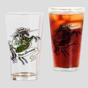 MacDonald Unicorn Drinking Glass