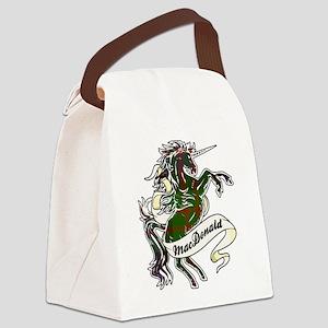 MacDonald Unicorn Canvas Lunch Bag