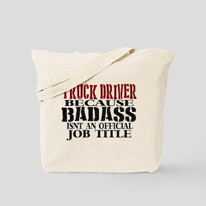 Badass Trucker Tote Bag