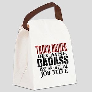 Badass Trucker Canvas Lunch Bag