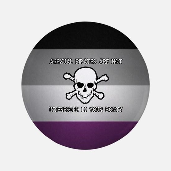 "Asexual Pirates 3.5"" Button"