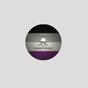 Asexual Pirates Mini Button