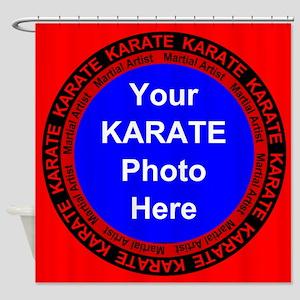 Karate Photo Here Shower Curtain