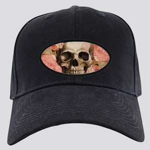 Vintage Rosa Skull Collage Baseball Hat