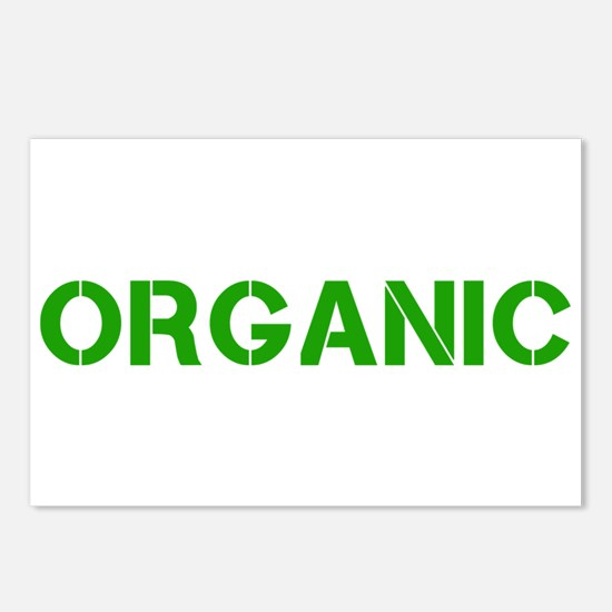 organic stencil Postcards (Package of 8)