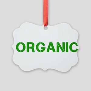 organic stencil Ornament