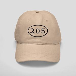 205 Oval Cap