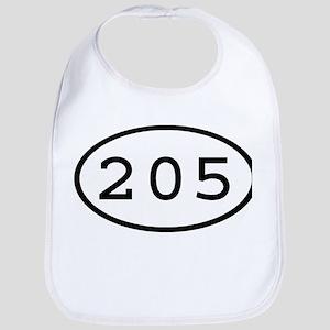 205 Oval Bib