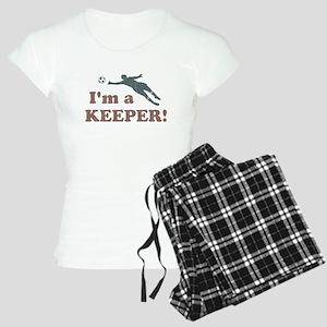 I'm a Keeper Soccer Goalie Pajamas