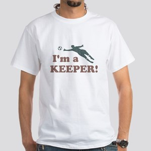 I'm a Keeper Soccer Goalie T-Shirt