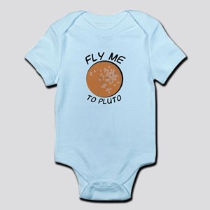 Fly to Pluto Body Suit