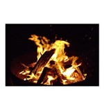 Campfire . Give your rea Postcards (Package of 8)