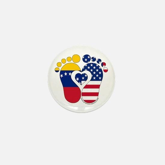 Venezuelan American Baby Mini Button