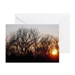 Winter Sunset Greeting Cards (Pk of 10)