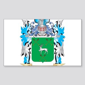 Hennessy Coat of Arms - Family Crest Sticker