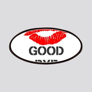 OYOOS Lip Good Bye design Patches