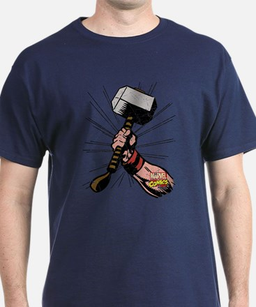 Marvel Comics Thor Hammer Retro T-Shirt
