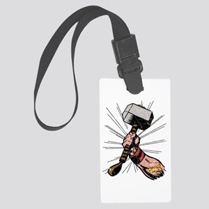 Marvel Comics Thor Hammer Retro Large Luggage Tag