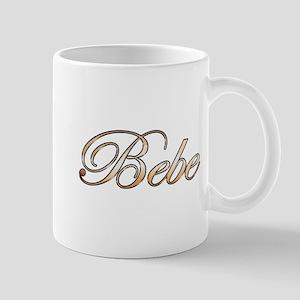 Gold Bebe Mugs