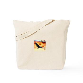Tote Bag - Eagle against Sunset Sky