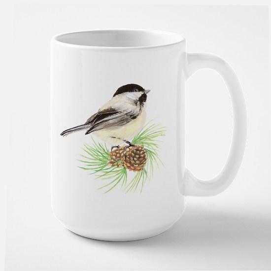 Chickadee Pine.png Mugs