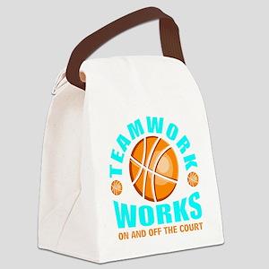 Teamwork tip Canvas Lunch Bag