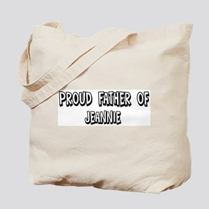 Father of Jeannie Tote Bag