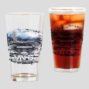 Aircraft carrier Dwight D. Eisenhower Drinking Gla