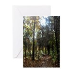 Hike the Woods Greeting Card