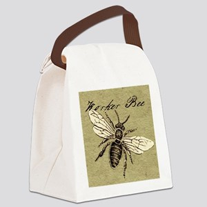 Worker Bee Canvas Lunch Bag