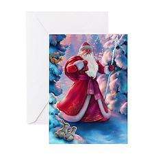 Christmas Morning Greeting Card