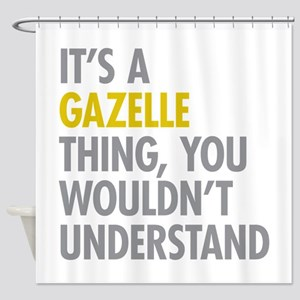 Its A Gazelle Thing Shower Curtain