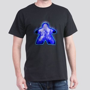 Blue Fire Meeple T-Shirt