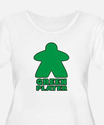 Green Player Plus Size T-Shirt