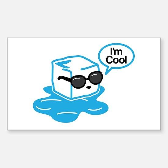 I'm Cool Decal