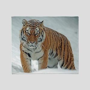 Bengal Tiger Throw Blanket