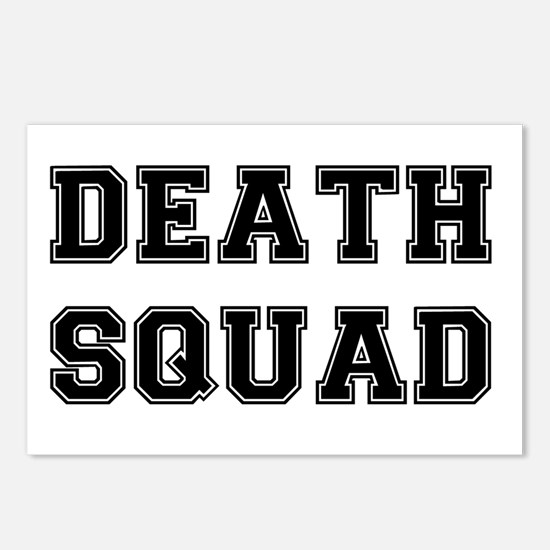 DEATH SQUAD! Postcards (Package of 8)