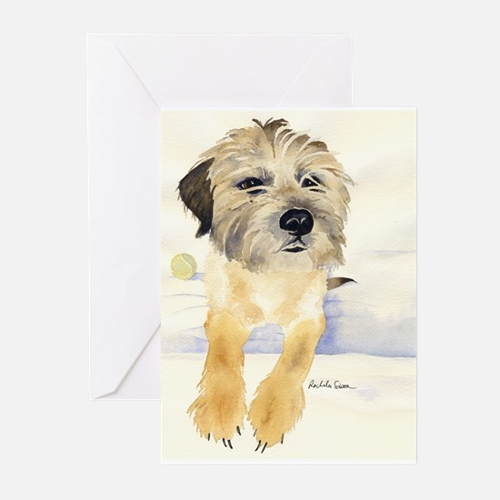 Border Terrier Things! Greeting Cards (Package of