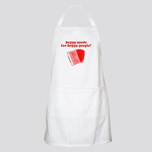 Happy Music for Happy People BBQ Apron